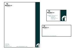 Business card stationery design process about logo design for Process server business card samples